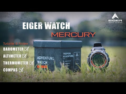 Jam Tangan Eiger Mercury    Tutorial Kalibrasi    Barometer    Altimeter    Compas