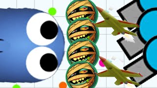 Slither.io Monster Team Dominating All Diep.io/Slitherio Live Stream