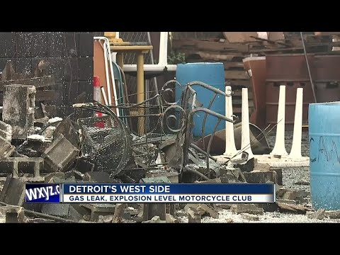 Explosion destroys Detroit motorcycle club building