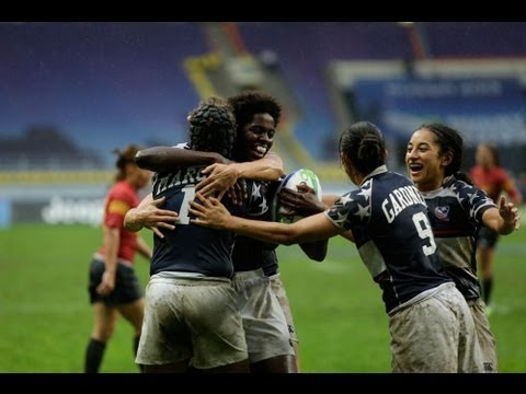 RWC 2013 - USA Rugby Women's Eagle Sevens 3rd Place Match ...