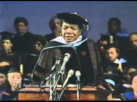 Maya Angelou's 1992 Commencement Address at Spelman College