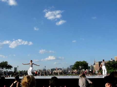 Merce Cunningham Tribute @ Rockefellow Park, 2010 River to River Festival