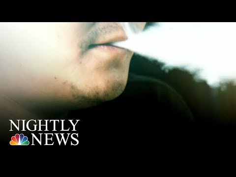 CDC Investigating Illness Linked To E-Cigs And Vaping Across The Country | NBC Nightly News