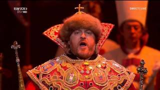 "Scene from Mussorgsky -- ""Boris Godunov"""