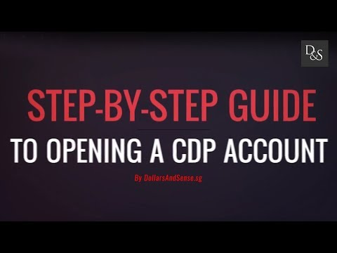 Step-by-Step Guide To Opening A CDP Account
