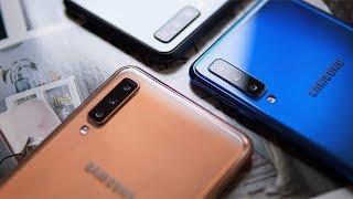 نظرة على Galaxy A50 و A30 و الجهاز اللوحي Tab S5e و الساعة  Galaxy Watch Active