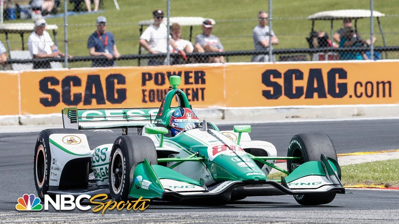 IndyCar Road America qualifying highlights | Motorsports on NBC