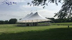 How much does a wedding tent cost
