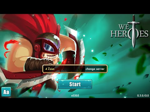 Game We Heroes on IOS, Crusade Gameplay, Defeat Endboss