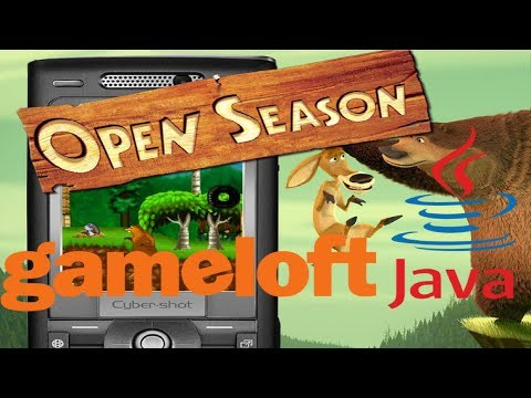 """Open Season"" (Сезон Охоты) - Gameloft 2006 Year (Java Game)"