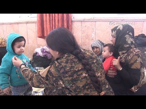 As Raqqa nears liberation, YPG-led SDF rescues more civilians