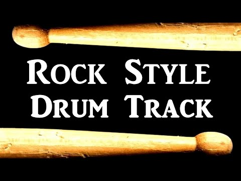 Rock Pop Drum Beat 100 BPM Bass Guitar Backing Track Free MP3 Loop #72