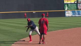 Rafael Devers, 3B, Red Sox (05-19-17) - Double-A Portland, Eastern League