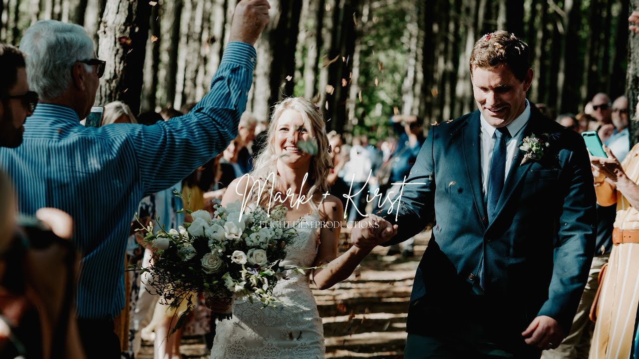 Beautiful Forest Wedding | Mark + Kirst