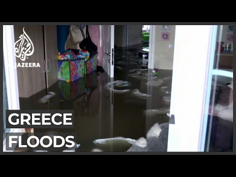 At least eight people killed in Greece floods