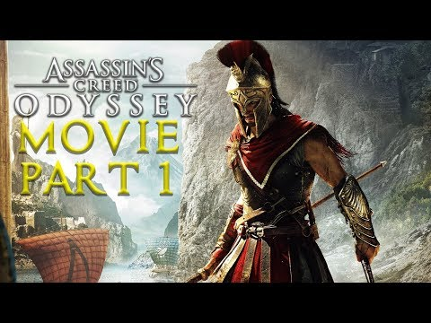 ASSASSIN'S CREED ODYSSEY All Cutscenes (PART 1) Game Movie Xbox One X Enhanced
