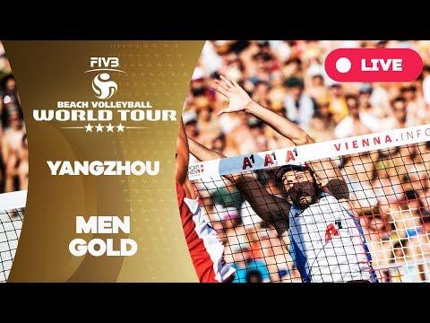 Yangzhou 4-Star - 2018 FIVB Beach Volleyball World Tour - Men Gold Medal Match