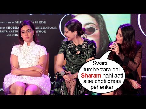 Kareena & Sonam Kapoor INSULT Swara Bhaskar For Wearing Short Dress At Veere Di Wedding