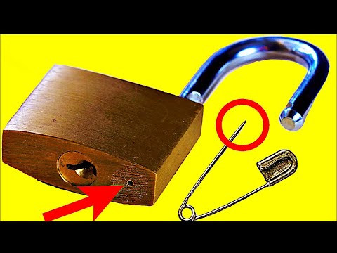 10 Ways to Open a Lock  NEW