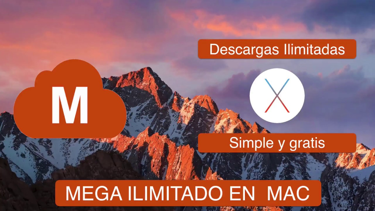 Mega Downloader para mac OS Sierra: Descargas ilimitadas gratis de Mega  [Leer descripción]