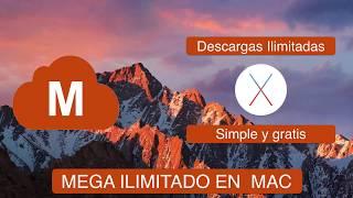 Mega Downloader para mac: Descargas ilimitadas gratis de Mega [Leer descripción]