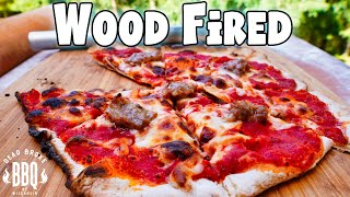 Ooni Fyra Wood Fired Thin Crust Sausage Pizza
