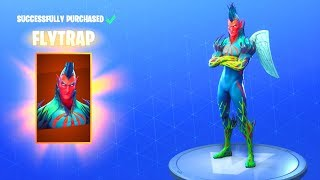 *NEW* FLYTRAP SKIN!! Fortnite Battle Royale