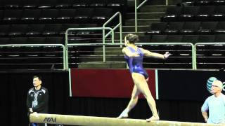 Jordyn Wieber - Balance Beam - 2012 U.S. Olympic Trials Podium Training