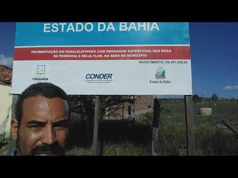 Rua das Pedrinhas e Rua Beija Flor na cidade de itaquara Ba Calçamento obra do Governo Do Estado👏✍