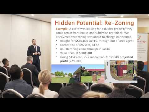 Strategies to PROFIT from Perth Property including Re-Zoning, Renovation & Buying Under Market Value