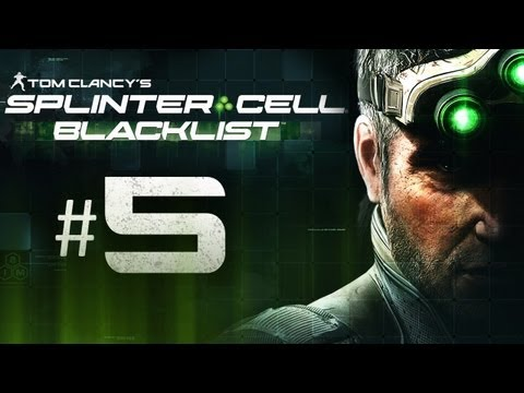 Splinter Cell Blacklist Gameplay Walkthrough Part 5 - Bed Time