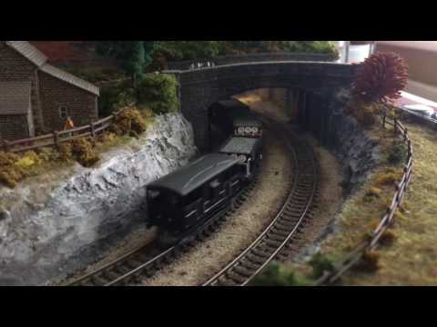 ROUNDCOMBE. Small 2foot square n gauge layout