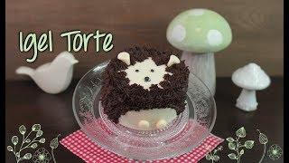IGEL TORTE SELBER MACHEN | Motivtorten / Mini Cakes mit Fondant backen [auch für Anfänger]