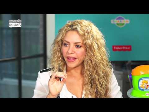 Shakira interview - 'I'm a tiger mum'