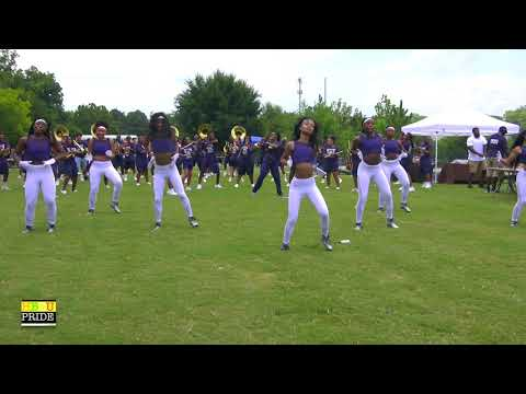 "Redan High School ""Blue Thunder"" Marching Band ft. ""Silver Essence"" 