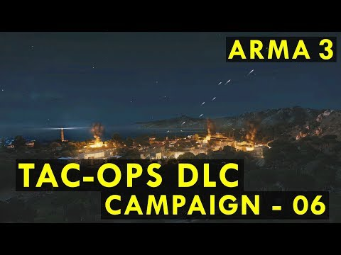 ARMA 3 TAC-OPS DLC #06 | Stepping Stone - Disintegration Point (1/2)