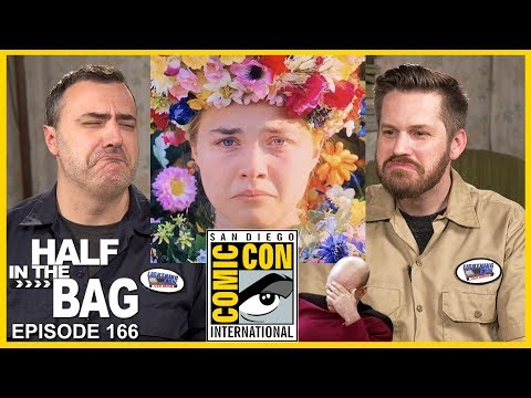 Half In The Bag: Comic Con 2019, The Picard Trailer, Streaming Services, And Midsommar