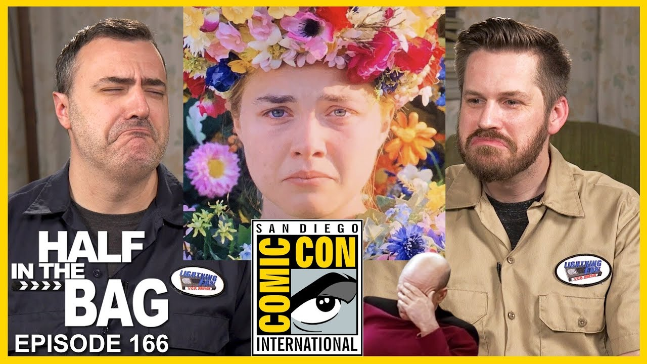 RLM: Half in the Bag: Comic Con 2019, The Picard Trailer, Streaming Services, and Midsommar
