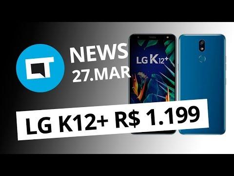 9611ceb9e8f LG K12+ no Brasil; Galaxy Note 10 sem botões; Pegadinha no Twitter e + [CT  News] - Vídeos - Canaltech