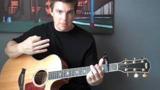 "How to Play ""White Flag"" - Chris Tomlin / Passion (Matt McCoy)"