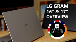 "LG Gram 16"" / 17"" 2021 (Intel Evo) - Windows Premium Overview"