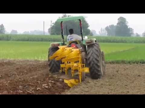 Reversible M B Plough 3 Bottom (Hydraulic Type) - Dhir Field Tanda (Contact No - 00919417400847)
