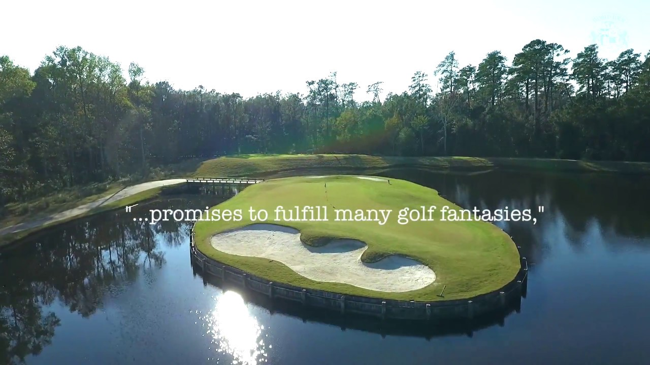 World Tour Golf Links Hole 5 Spotlight Myrtle Beach Holiday