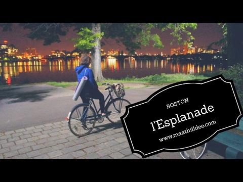 (Boston) En vélo le long de la Charles River