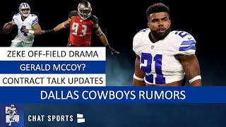 Cowboys Rumors: Ezekiel Elliott Latest, Gerald McCoy & Jaylon Smith And Amari Cooper Contract Update
