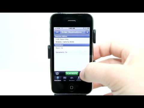 Route4Me IPhone App Demo