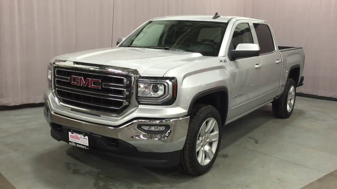 2016 gmc sierra 1500 sle crew cab 4wd z71 offroad package oshawa on stock 160464 youtube. Black Bedroom Furniture Sets. Home Design Ideas