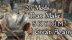 20+ Mods That Make Skyrim (Special Edition) Great Again