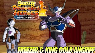 Freezer & King Cold wollen Ärger!  # 7 | Super Dragon Ball Heroes World Mission Deutsch