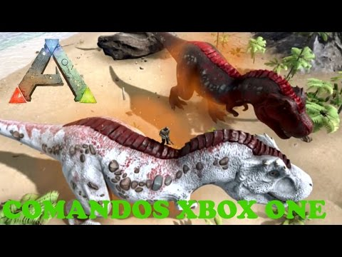 ARK XBOX ONE-Comandos